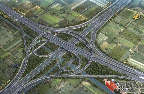 荆州市城北快速路项目